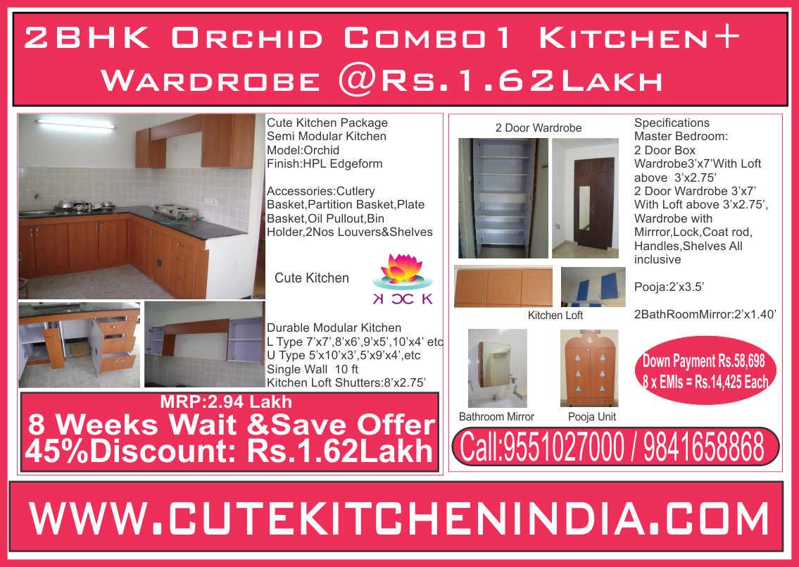 Cute Kitchen - Modular Kitchen Manufacturer in Chennai, a Brandowned ...
