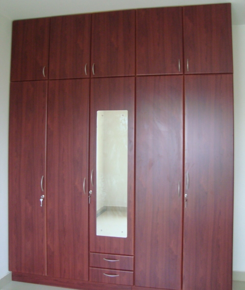 Cute 5 door wardrobe